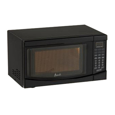 Compact Countertop Microwave in Black