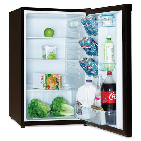 4.4 Cu. Ft. Compact Refrigerator - Stainless Steel