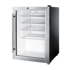 Compact Commercial Glass Door Beverage Cooler