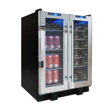 Touch Screen Mirrored Wine & Beverage Cooler