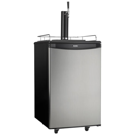 "21"" Single Tap Beer Dispenser with 5.4 cu. ft. Capacity"