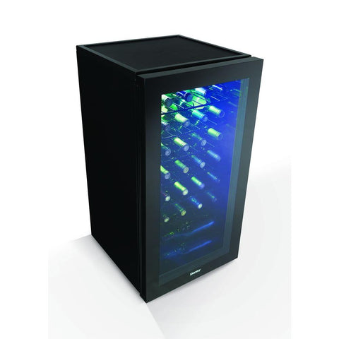 36-Bottle Designer Wine Cooler Black