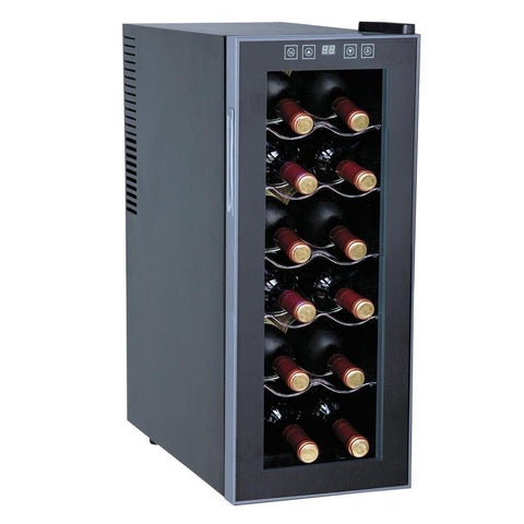 12-Bottle Thermoelectric Slim Countertop Wine Cooler