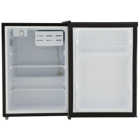 2.4 cu.ft. Compact Refrigerator with Energy Star - Stainless Steel