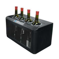 Il Romanzo 4-Bottle Single Zone Open Wine Cooler