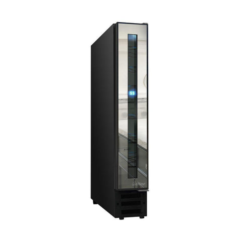 7-Bottle Slim Mirrored Wine Cooler