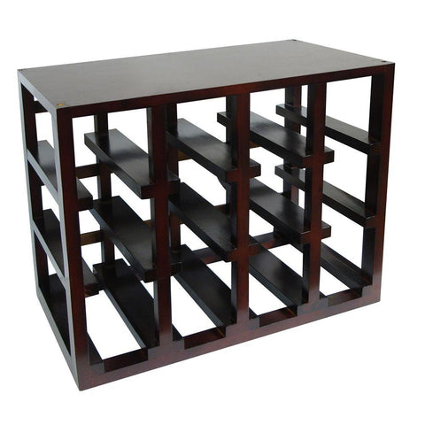 Epicureanist 12 Bottle Stackable Wine Rack