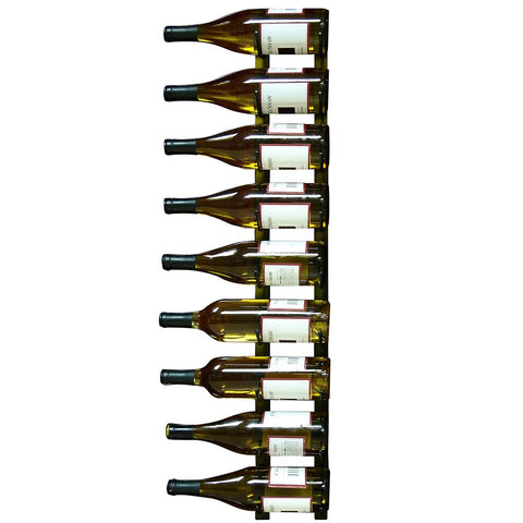 9 Bottle Epic Metal Wine Rack