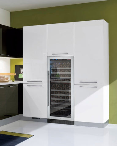 128 Bottle FlexCount Series Single Zone Wine Refrigerator - Stainless