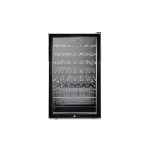 "40-Bottle 20"" Wide Built-in Undercounter Wine Cellar"