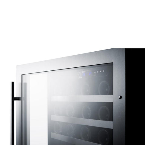 44-Bottle Dual Zone Built-In Wine Refrigerator