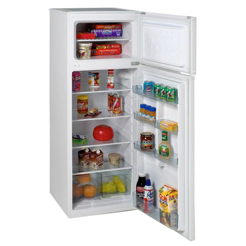 "22"" 7.4 cu. ft. White Top Freezer Refrigerator"