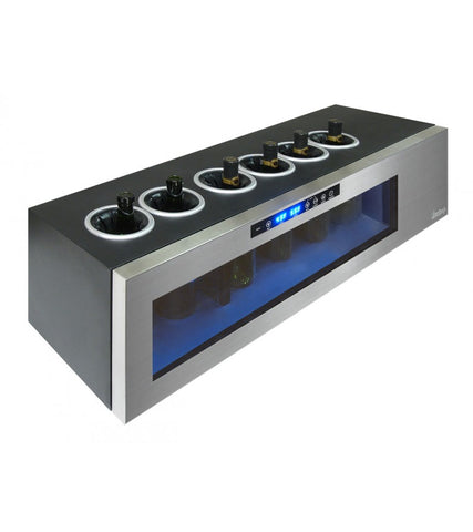 Il Romanzo 6-Bottle Dual Zone Open Wine Cooler