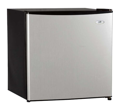 1.6 cu.ft. Compact Refrigerator with Energy Star - Stainless Steel