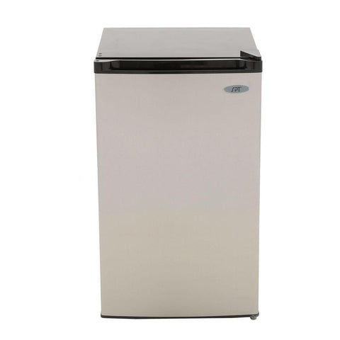 4.4 cu.ft. Compact Refrigerator with Energy Star - Stainless