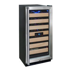 26-Bottle Wine Cooler with Interior Display