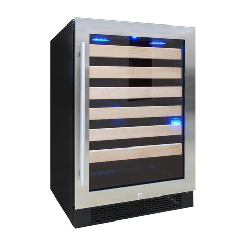 54 Bottle Wine Cooler With Front Exhaust