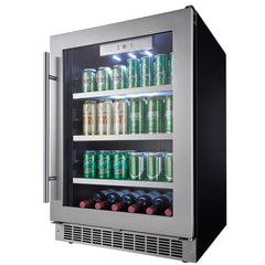 5.6 cu.ft. Capacity Silhouette Saxony Beverage Center