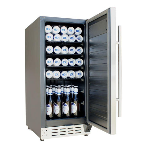 2.9 cu.ft. Stainless Steel Under-Counter Beer Froster