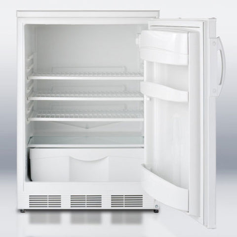 "24"" General Purpose Auto Defrost Counter Height All-refrigerator With Lock"
