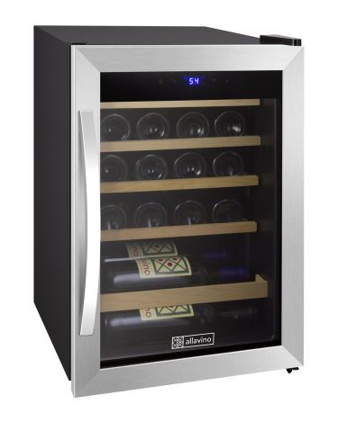 Cascina Series 21 Bottle Single Zone Stainless Steel Wine Refrigerator