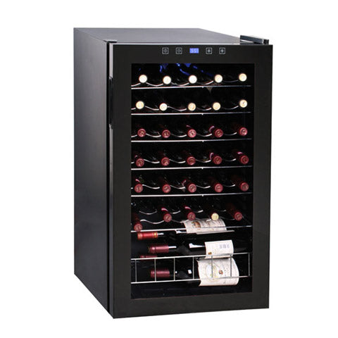 34-Bottle Touch Screen Wine Cooler