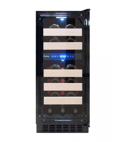 26-Bottle 15-Inch Panel-Ready Wine Cooler