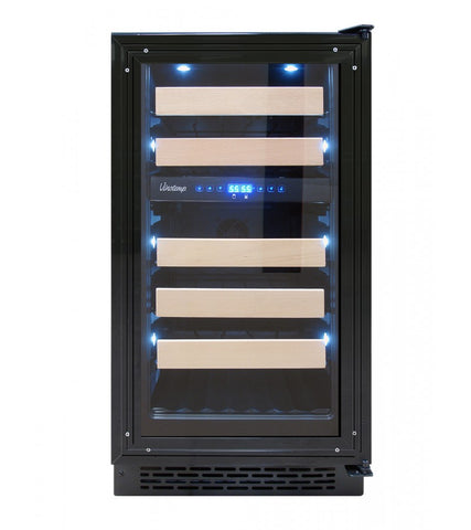 "32-Bottle 18"" Panel-Ready Wine Cooler"