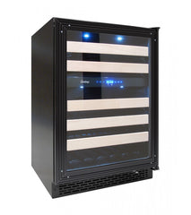 46-Bottle Dual Zone Panel-Ready 24-Inch Wine Cooler