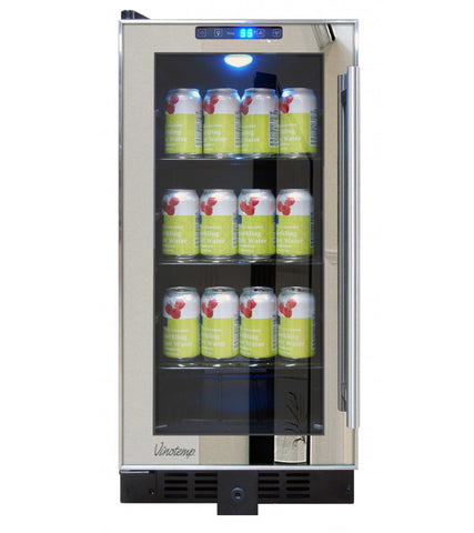 VT-32 Mirrored Beverage Cooler