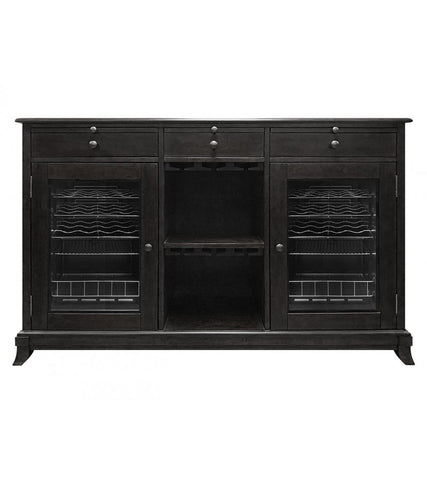 Cava 38-Bottle Wine Storage Credenza In Espresso
