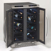 Image of 38-Bottle Dual Zone Wine Cooler - Stainless Steel