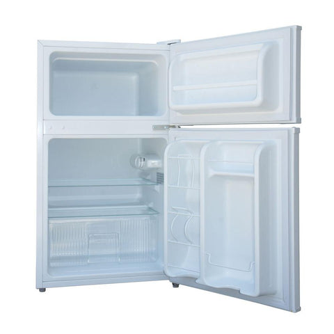 3.5 cu.ft. Double Door Refrigerator with Energy Star - White