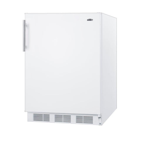 "24"" Wide Counter Height Refrigerator-Freezer"