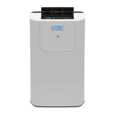 12,000 BTU Dual Hose Digital Portable Air Conditioner with Heat  Drain Pump