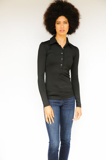 Long Sleeve Women's Performance Polo
