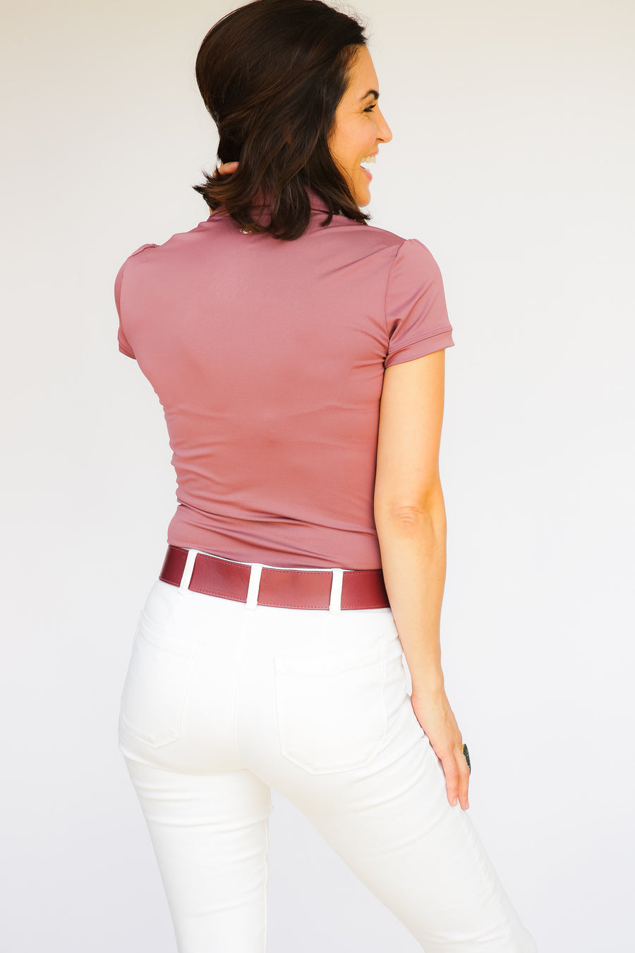Short Sleeve Women's Performance Polo