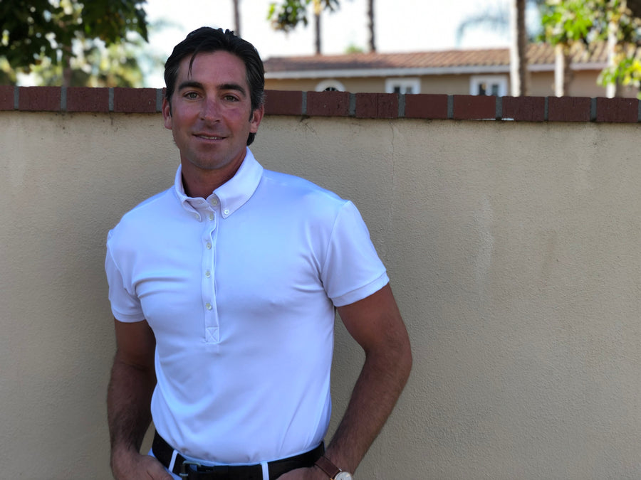 Short Sleeve Men's Performance Polo