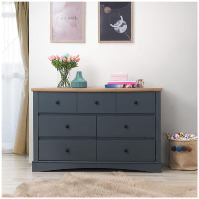 3 PIECE BEDROOM SET 7 DRAWER