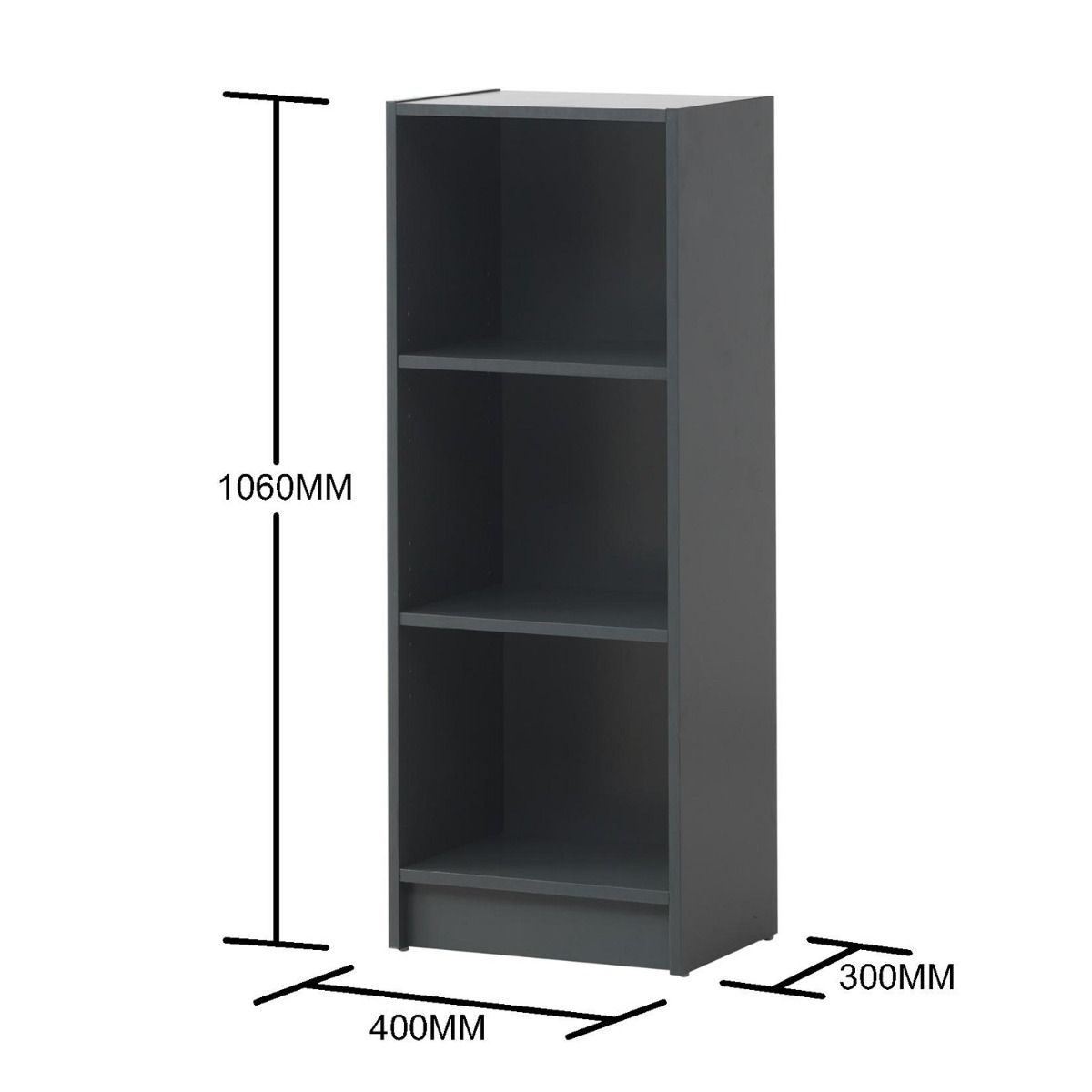Medium Narrow Bookcase