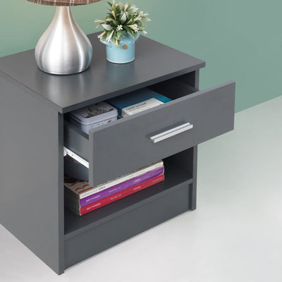 Nightstand with 1 Drawer