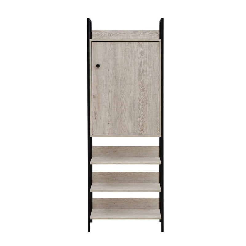 Storage Cabinet with 1 Door & 4 Shelves