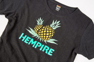 HxC Pineapple Ladies Tee - Black
