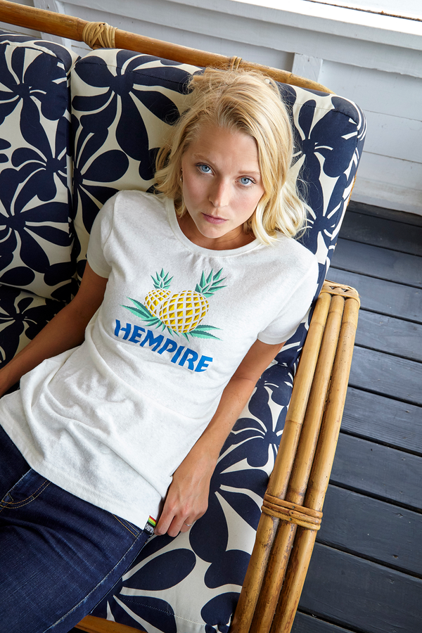 HxC Pineapple Ladies Tee - Natural