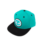 Aqua Central Rolling Agency Hat