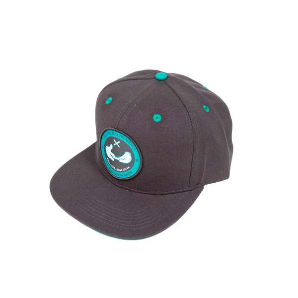 Dark Grey Central Rolling Agency Hat