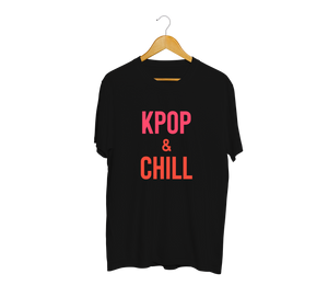 WWK KPOP And Chill Black & Ombré T-Shirt