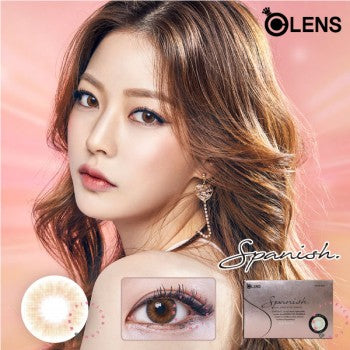 O-Lens Spanish Real Brown 1 Month