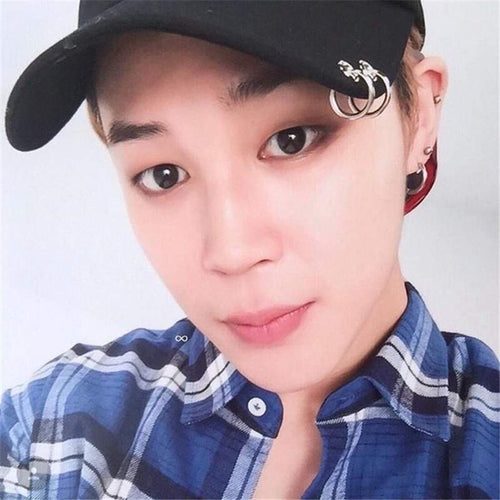 BTS Jimin Silver Ring Hat