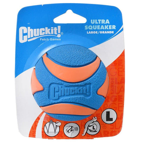 Chuckit Ultra Squeaker Ball Dog Toy